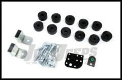 """TeraFlex 1"""" Body Lift Kit With Synthetic Spacers For 1997-06 Jeep Wrangler TJ & TLJ Unlimited Models 1942101"""
