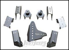 TeraFlex Rear CRD60 Axle Bracket Kit For 2007-18 Jeep Wrangler JK 2 Door & Unlimited 4 Door 3990007