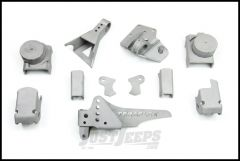 TeraFlex Front CRD60 Axle Bracket Kit For 2007-18 Jeep Wrangler JK 2 Door & Unlimited 4 Door 3990700