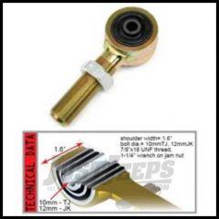 TeraFlex Trackbar Rubber End Right Hand Thread For 1997-06 Jeep Wrangler TJ & Unlimited 4112222