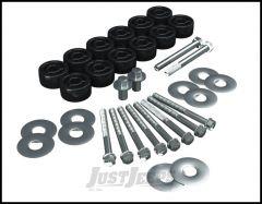 """TeraFlex 1.25"""" Body Lift For 2007-18 Jeep Wrangler JK 2 Door & Unlimited 4 Door 4152100"""