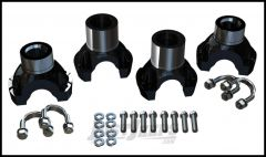 TeraFlex Yoke U-Bolt Conversion Front & Rear Kit For 2007-18 Jeep Wrangler JK 2 Door & Unlimited 4 Door 4240300