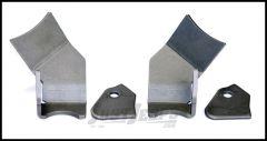 TeraFlex Rear Lower FlexArm Skidplate Kit For 2007-18 Jeep Wrangler JK 2 Door & Unlimited 4 Door 4937400