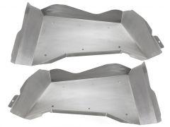 Genright Off Road Rear Aluminum Inner Fenders For 2007-18 Jeep Wrangler JK 2 Doors TFR-8SIF