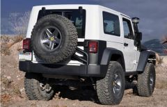 AEV JK Rear Tire Carrier Moab / COD For 12-13 Jeep Wrangler JK 2 Door & Unlimited 4 Door Call of Duty MW3 & Moab Editions 10305025AA