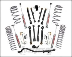 "Rough Country 2½"" X-Series Suspension Lift Kit With Premium N2.0 Shocks For 1997-06 Jeep Wrangler TJ & TJ Unlimited Models (4cyl Engine) 61120"