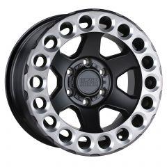 Black Rhino Odessa Wheel In Matte Black w/ Machined Tinted Lip & Milled Rings ODESSAM-