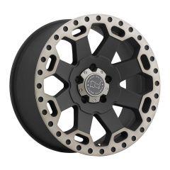 Black Rhino Warlord Wheel In Black With Machined Lip & Dark Tint 25127M71WAR-
