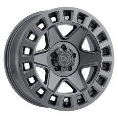 Black Rhino York Wheel In Matte Gun Metal Grey 25127G71-