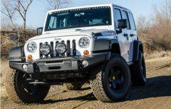 AEV Front Bumper Tubeless For 2007-18 Jeep Wrangler JK 2 Door & Unlimited 4 Door 10305056AC