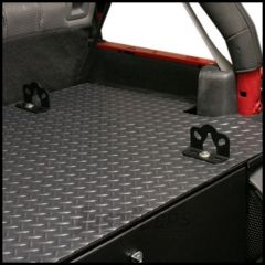 Tuffy Products Commercial Grade Diamond Plate Vinyl Cover Or Insert For TY-240-01 Security Deck Enclosure 864-01-240K