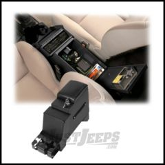 """Tuffy Products Deluxe Stereo Security Console 6?"""" Width In Black For 1991-95 Jeep Wrangler YJ 024-01"""