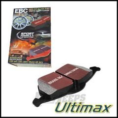 EBC Brakes Rear Ultimax Brake Pads For 2004-08 Jeep Wrangler TJ Models & Liberty KJ UD964