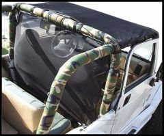 Vertically Driven Products Camouflage Roll Bar Covers For 1987-91 Jeep Wrangler YJ 50768731