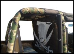 Vertically Driven Products Camouflage Roll Bar Covers For 1997-02 Jeep Wrangler TJ 50769731