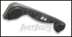 Vertically Driven Products Hi Fidelity 6 Speaker Overhead Soundbar In Textured Black For 1987-02 Jeep Wrangler YJ & TJ 792501