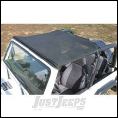 Vertically Driven Products KoolBreez Brief Top In Black For 1976-91 Jeep CJ-7 & Wrangler YJ 7691JKB