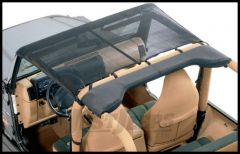 Vertically Driven Products KoolBreez Brief Top In Black For 1992-95 Jeep Wrangler YJ 9295JKB