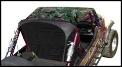 Vertically Driven Products KoolBreez Brief Top In Camouflage For 1976-91 Jeep CJ-7 & Wrangler YJ 7691JKB-4