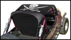 Vertically Driven Products KoolBreez Brief Top With Pirate Flag For 1976-91 Jeep CJ-7 & Wrangler YJ 7691JKB-2