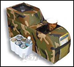 Vertically Driven Products Padded Catch All Center Console Camouflage For 1976-95 Jeep CJ Series & Wrangler YJ 42031