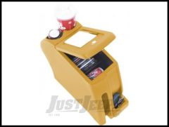 Vertically Driven Products Rotomolded Console In Saddle For 1997-00 Jeep Wrangler TJ 32427