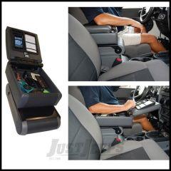Vertically Driven Products Sliding Armrest With Flip Open Extension For 2007-10 Jeep Wrangler JK & Wrangler JK Unlimited Models 35010