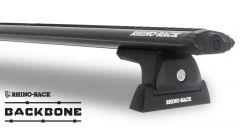 Rhino-Rack Vortex RLT600 Black 3 Bar Rhino-Rack Backbone Roof Rack For 2011-18 Jeep Wrangler Unlimited JK Hardtop JA6390