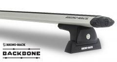 Rhino-Rack Vortex RLT600 Silver 2 Bar Rhino-Rack Backbone Roof Rack For 2011-18 Jeep Wrangler Unlimited JK JA6385
