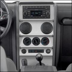 Warrior Products Dash Panel Overlay For 2007-08 Jeep Wrangler JK 2 Door & Unlimited 4 Door Models 90402PA