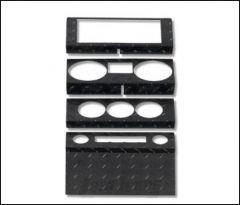 Warrior Products Dash Overlay For 2009-10 Jeep Wrangler JK 2 Door & Unlimited 4 Door Models 90405