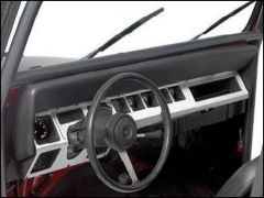 Warrior Products Dash Panel Overlay For 1987-95 Jeep Wrangler YJ 90424PA
