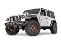 WARN Mid Grille Guard Tube For 18-20+ Jeep Wrangler JL & Gladiator JT with Factory Steel Bumper 102350