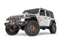 WARN Low Grille Guard Tube For 18-20+ Jeep Wrangler JL & Gladiator JT with Factory Steel Bumper 102355