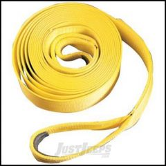 "WARN Standard Yellow Recovery Strap 2"" x 30' (5cm x 9m) 11391"