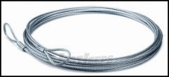 "WARN Winch Line Wire Rope Extension 50ft. X  5/16"" 25431"