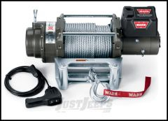 WARN M12000 Winch With 125' Wire Rope & Roller Fairlead 24 Volt 265072