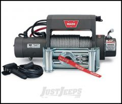 WARN XD9000i Winch With 125' Wire Rope & Roller Fairlead 27550