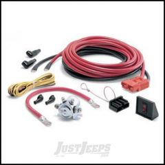 WARN Quick Connect Kits For Rear Mounting Of Portable Winch With 24ft. Cables 32966