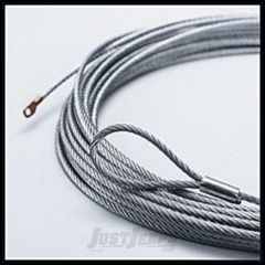 WARN Replacment Wire Winch Rope 125', 5/16 (38m, 8mm) For PowerPlant HP, 9.5cti, XD9000i 38312