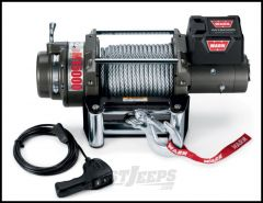 WARN M15000 Winch With 90' Wire Rope & Roller Fairlead 24 Volt 478022