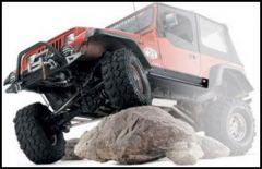 WARN Rock Sliders for 1997-02 Jeep Wrangler TJ 63002