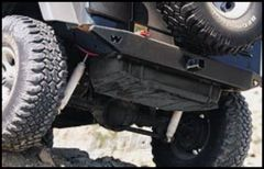 WARN Rock Crawler Rear Bumper For 1997-06 Jeep Wrangler TJ & Unlimited 65508