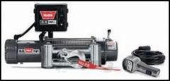 WARN 9.5xp Self-Recovery Winch (12V DC) 125' Wire Rope and Roller Fairlead 68500