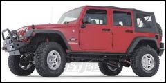 WARN Rock Sliders For 2007-18 Jeep Wrangler Unlimited JK 4 Door 74575