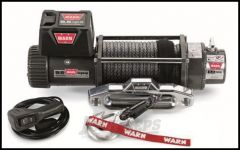 WARN 9.5xp-s Self-Recovery Winch (12V DC) 100' Synthetic Rope and Hawse Fairlead 87310