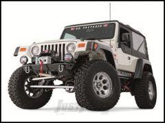 WARN Rock Crawler Stubby Front Bumper For 1997-06 Jeep Wrangler TJ & TLJ Unlimited Models 87700