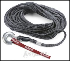 "WARN Synthetic Winch Rope Spydura 100', 3/8"" (30m, 9.5mm) 87915"