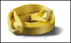 """WARN 3"""" x 30' Standard Recovery Tow Strap 88913"""