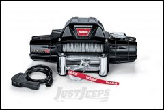 WARN ZEON 10 Winch (12V DC) 80' Wire Rope and Roller Fairlead 88990